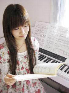 八王子のピアノ女子